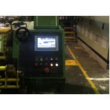 automação de engomadeira industrial