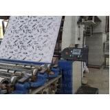 automação de máquinas de estampar tecido valor Crateús
