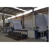 automação de máquinas de estampar tecido Floriano