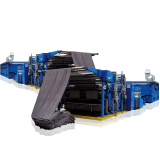 automação de máquina de tecelagem