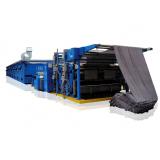 automação de máquina de tecido rama