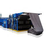 automação de máquina de tecido texima rama