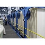 automação de máquinas de tingimento têxtil