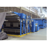 automação de máquina têxtil