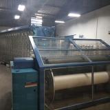 automação de máquina têxtil urdideira