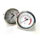 manômetro para máquinas benninger Barras