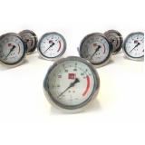 manômetro para máquinas rama preço Lages