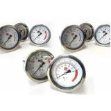 manômetro para máquinas rama
