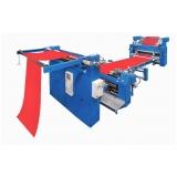 máquina de acabamento de tecido Ipatinga