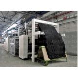 máquina de fazer acabamento em tecido Sapé