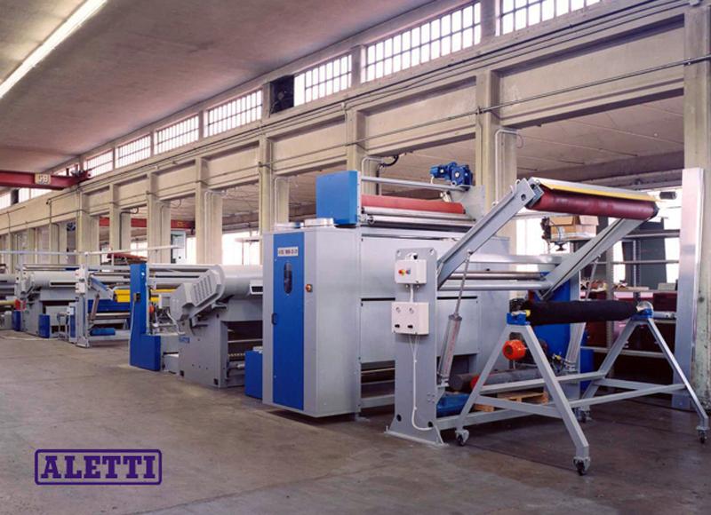 Máquinas para lixamento e calibração de produtos flexíveis